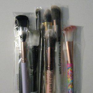 Makeup Brush Lot Crown Lisa Frank Luxie Vasanti